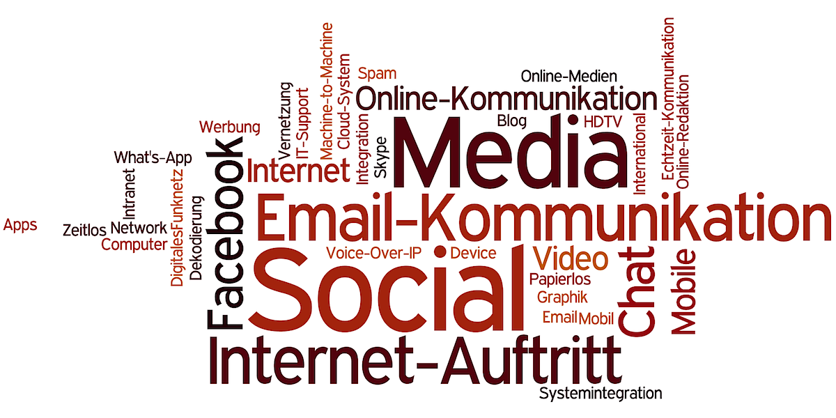 Tag Cloud Digitale Kommunikation