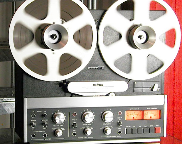 Tonbandlegende Revox B77